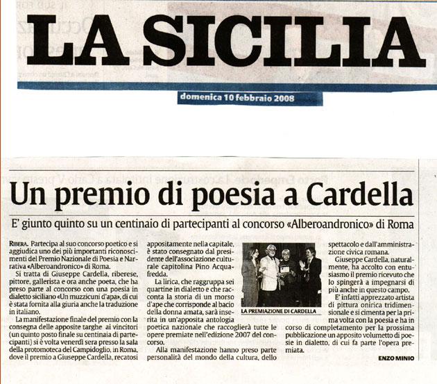 2008, La Sicilia