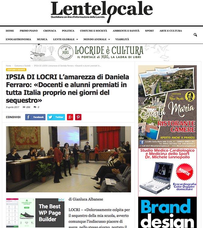 2017, Lente Locale