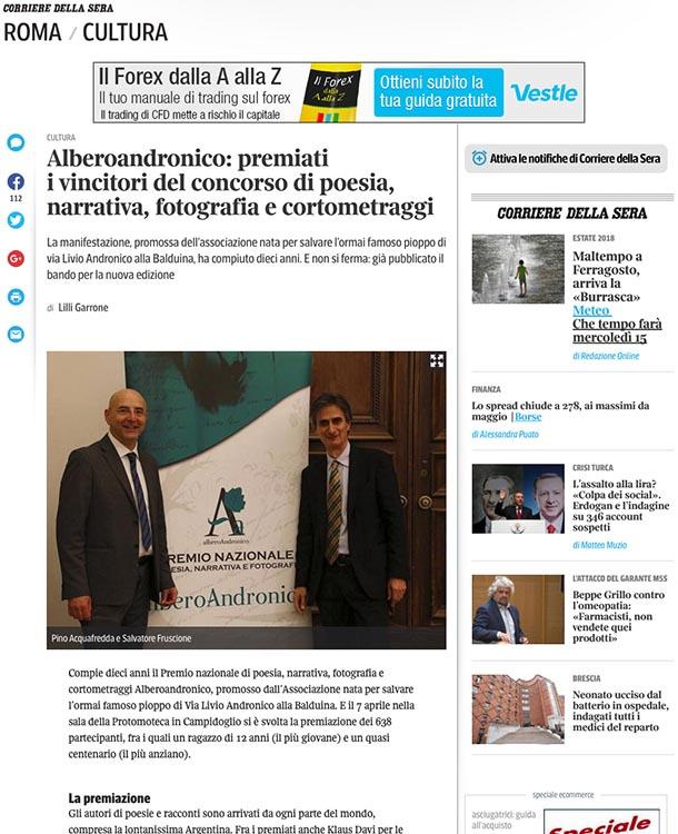 2017, Corriere della Sera